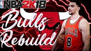 NEW ERA IN CHICAGO!! REBUILDING THE CHICAGO BULLS!! NBA 2K18 MY LEAGUE