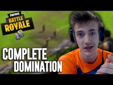 Complete Domination - Fortnite Battle Royale Highlights - Ninja