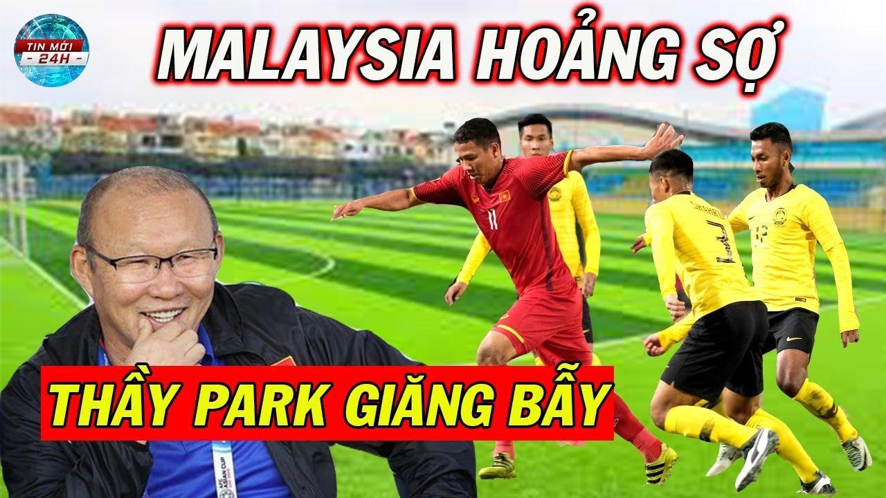 Tin Bóng Đá Việt Nam 6/10: Thầy Park Giăng Thiên La Địa Võng Trước Trận Gặp Malaysia
