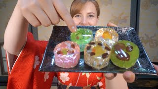 5 Japanese Sweets You NEED To Try! WAGASHI 好きな和菓子を紹介します