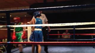 Haleem/Mohammed First Fight (Hall Green boxing club)