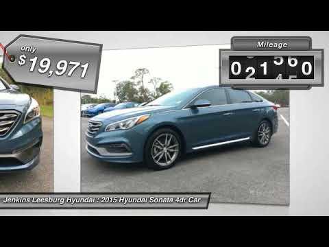 Superb 2015 Hyundai Sonata Leesburg Florida L21278A