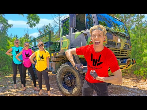 I Bought a TANK to Defeat Undercover Police!! (Spy Ninjas)