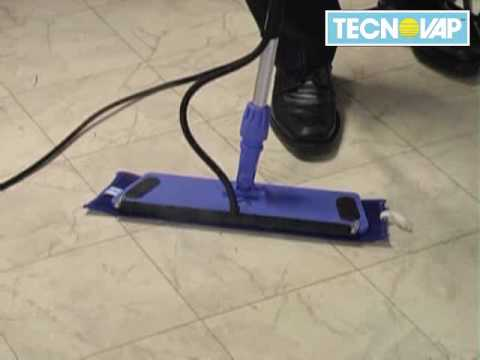 TECNOVAP Thermoglide Steam Mop - Steam Cleaning Equipment