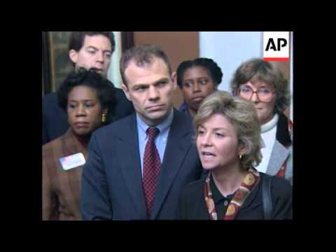 BOSNIA: US CONGRESSIONAL DELEGATION VISIT TO SAREJEVO