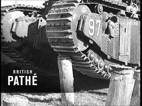 Super Tanks Demonstrated In France (1938)