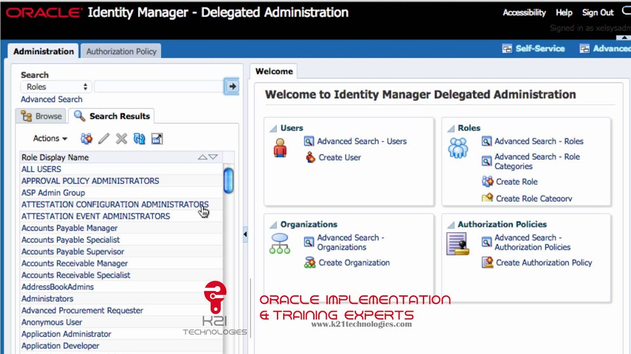 Oracle Fusion Applications (FA) : faadmin can't create/Add Users
