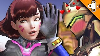 D.Va is Genji's Waifu! - Overwatch Funny & Epic Moments 277 - Highlights Montage
