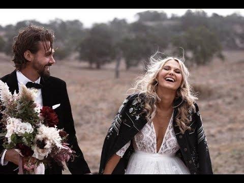 nyki-and-kane-richardson's-vegan-adelaide-wedding-video