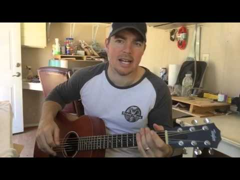 Night's On Fire | David Nail | Beginner Guitar Lesson