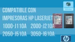 Paquete de cartuchos de tinta HP 122 originales