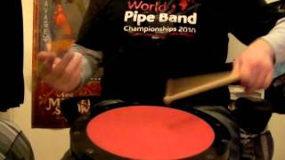 Pipe Band Drumming 4/4 March