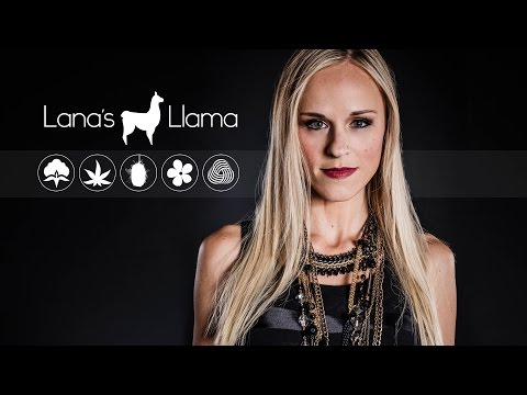 "Lana's Llama interview: Non Toxic Clothing & The ""Green"" Scene"