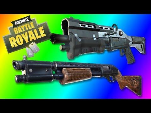 The Shotgun Only Challenge! Fortnite Battle Royale!