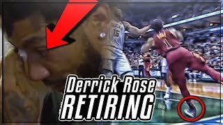 The REASON Derrick Rose Is RETIRING & Leave The NBA At 29! | Is D.Rose MVP & HOF Career Over!?