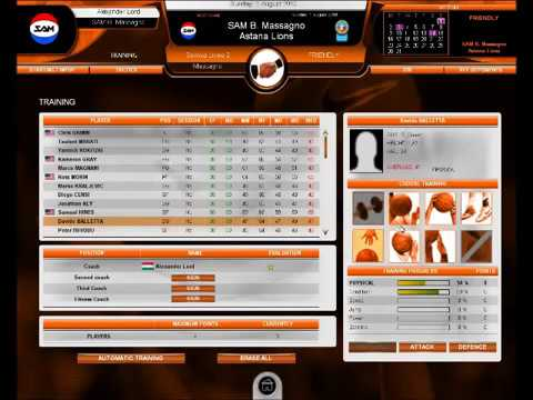 International Basketball Manager Gameplay 1 Youtube