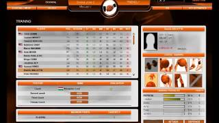 International Basketball Manager Gameplay #1