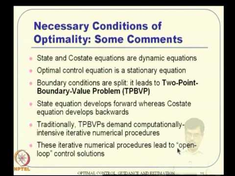 mod 03 lec 08 optimal control formulation using calculus. Black Bedroom Furniture Sets. Home Design Ideas