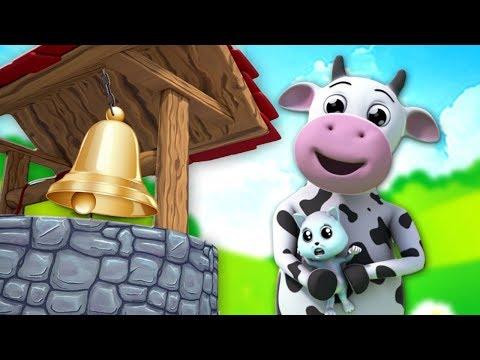 Ding Dong Bell - Nursery Rhymes & Children Songs - Cartoons by Kids Baby Club - 동영상
