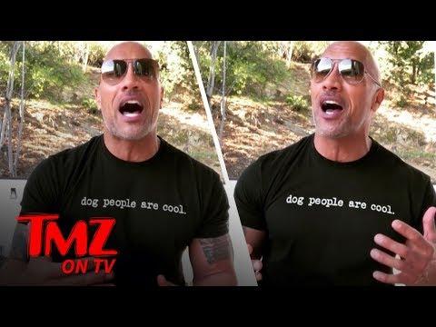 The Rock Celebrates His 'Worst Movie' Award!   TMZ TV