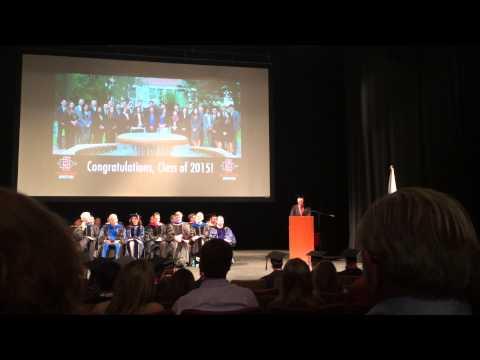 Landon Hemsley SMBA '15 Graduation Speech
