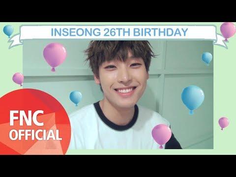 [HBD] INSEONG 26TH BIRTHDAY Mp3