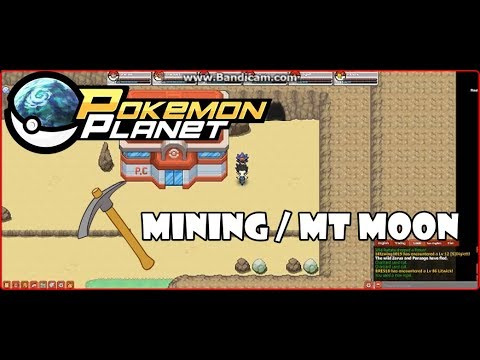 Mt Moon / Mining / Old Pickaxe - Pokemon Planet