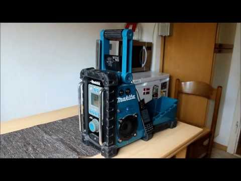 makita bmr mit bluetooth und usb lader youtube. Black Bedroom Furniture Sets. Home Design Ideas