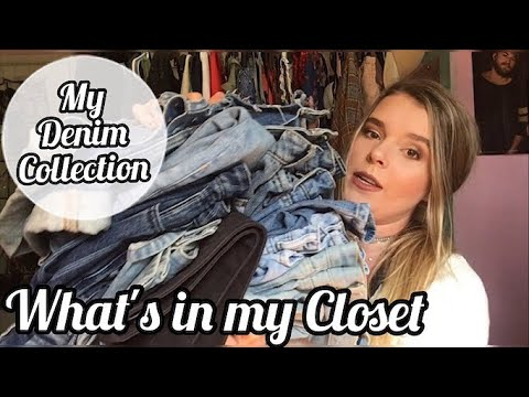 What's in my Closet - Denim Collection   Chloe Amich