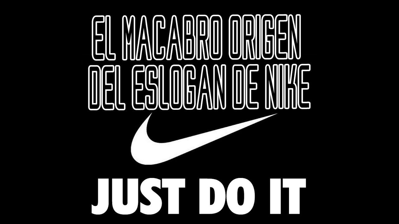Eslogan Nike El De Macabro Origen Del CdQBrWxeEo