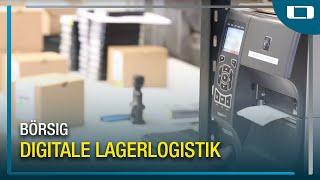 L-mobile warehouse im Einsatz bei Börsig