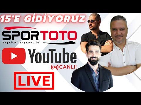 🔴 CANLI YAYIN! | SPOR TOTO'DA 15  BİZE GELDİ! ( BİLEMEYENİ DÖVÜYORLARDI ) | iddaabilir TV
