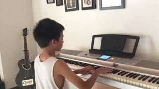 clair de lune - debussy (keyboard cover by bayu)
