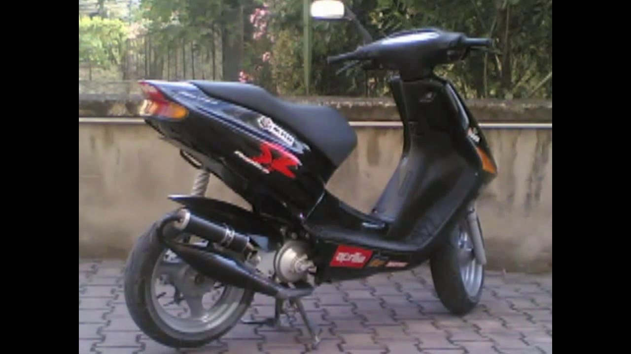 Aprilia Sr Replica 95 Lc Tribute Hd 720p Youtube