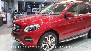 MERCEDES GLE400 MAU DO, MERCEDES GLE400 EXCLUSIVE 2018, ĐÁNH GIÁ XE MERCEDES GLE400