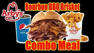 Arby's Bourbon BBQ Brisket Sandwich (Combo Meal) | WHAT ARE WE EATING?? | The Wolfe Pit