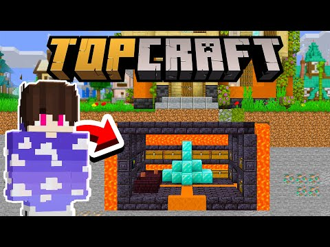 FIZ UMA BASE 100% SECRETA E SEGURA!!! - TopCraft Ep.16 (Minecraft 1.17)
