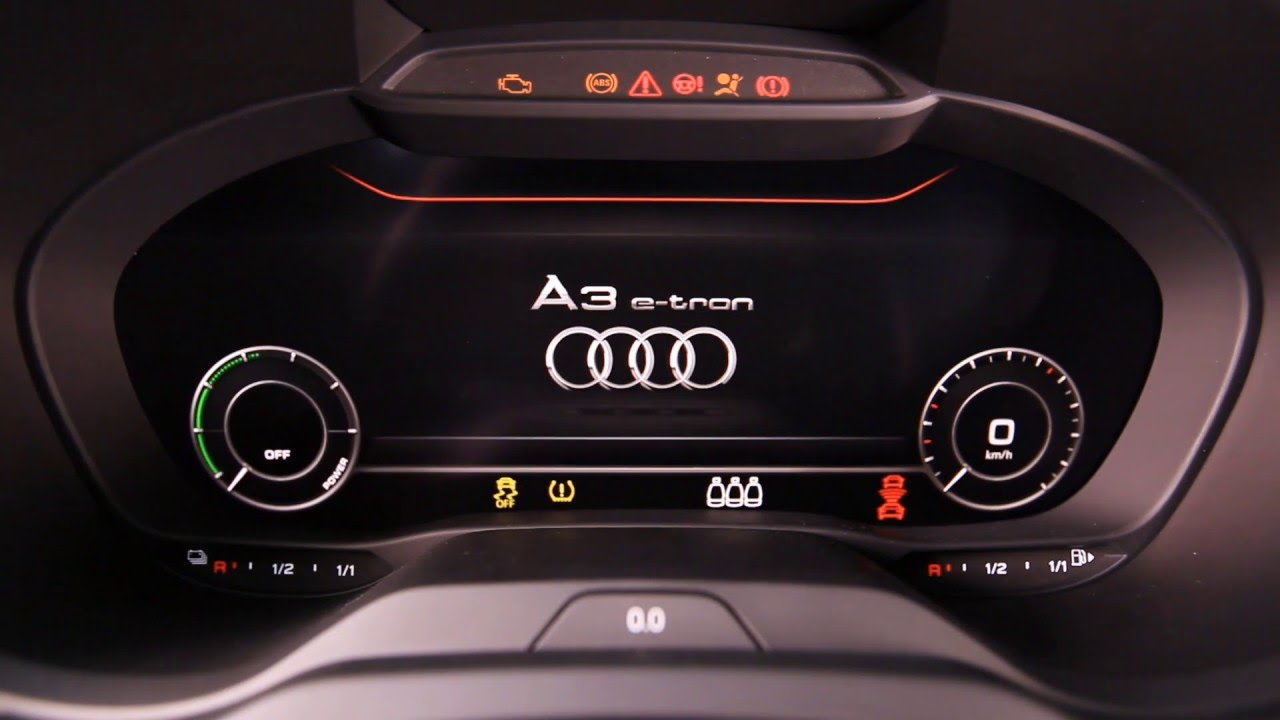 Audi A3 Sportback etron Interior Design AutoMotoTV YouTube