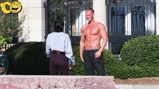 Picking Up Girls Shirtless Public Prank!