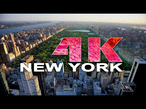 MANHATTAN | NEW YORK CITY - NY , UNITED STATES - A TRAVEL TOUR - 4K UHD