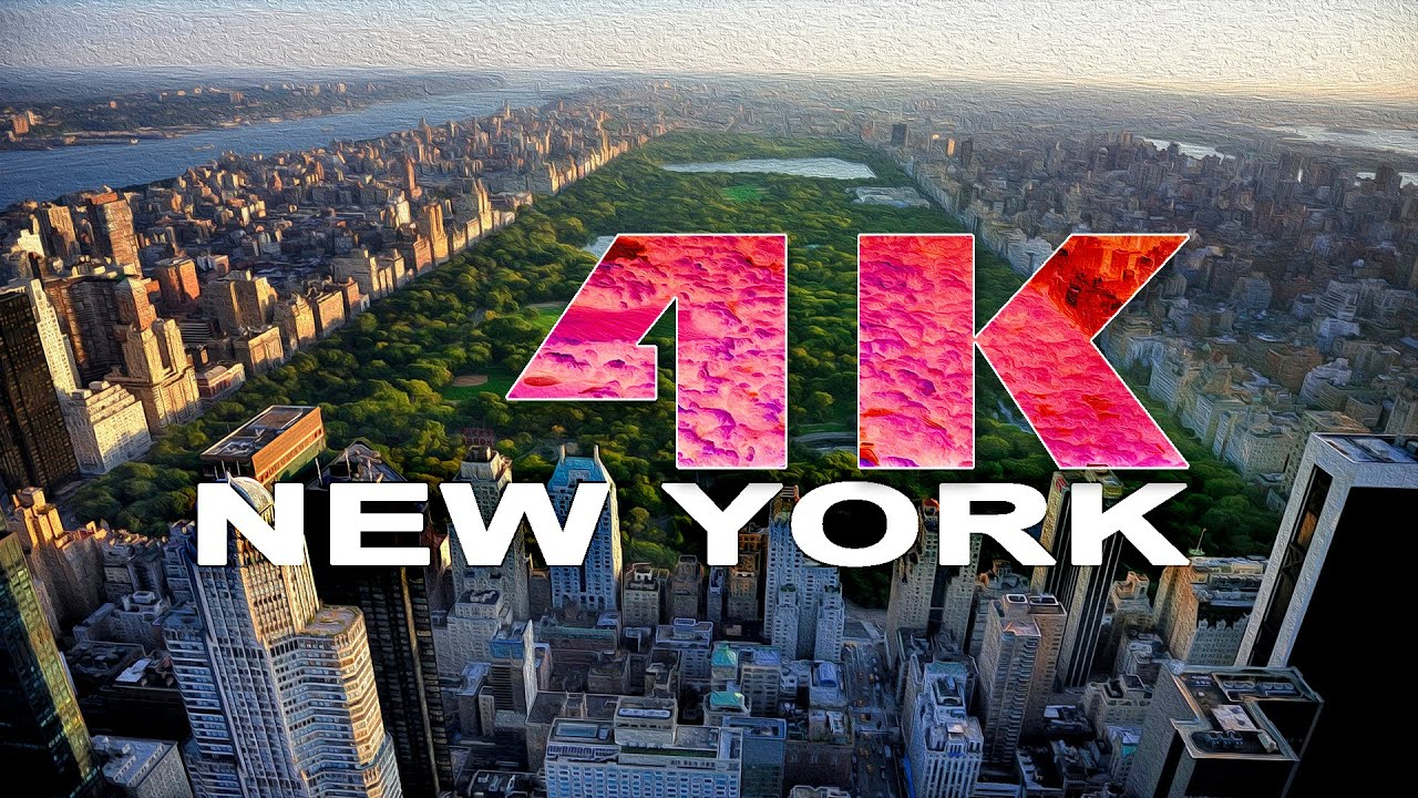 MANHATTAN  NEW YORK CITY  NY  UNITED STATES  A TRAVEL TOUR  UHD 4K