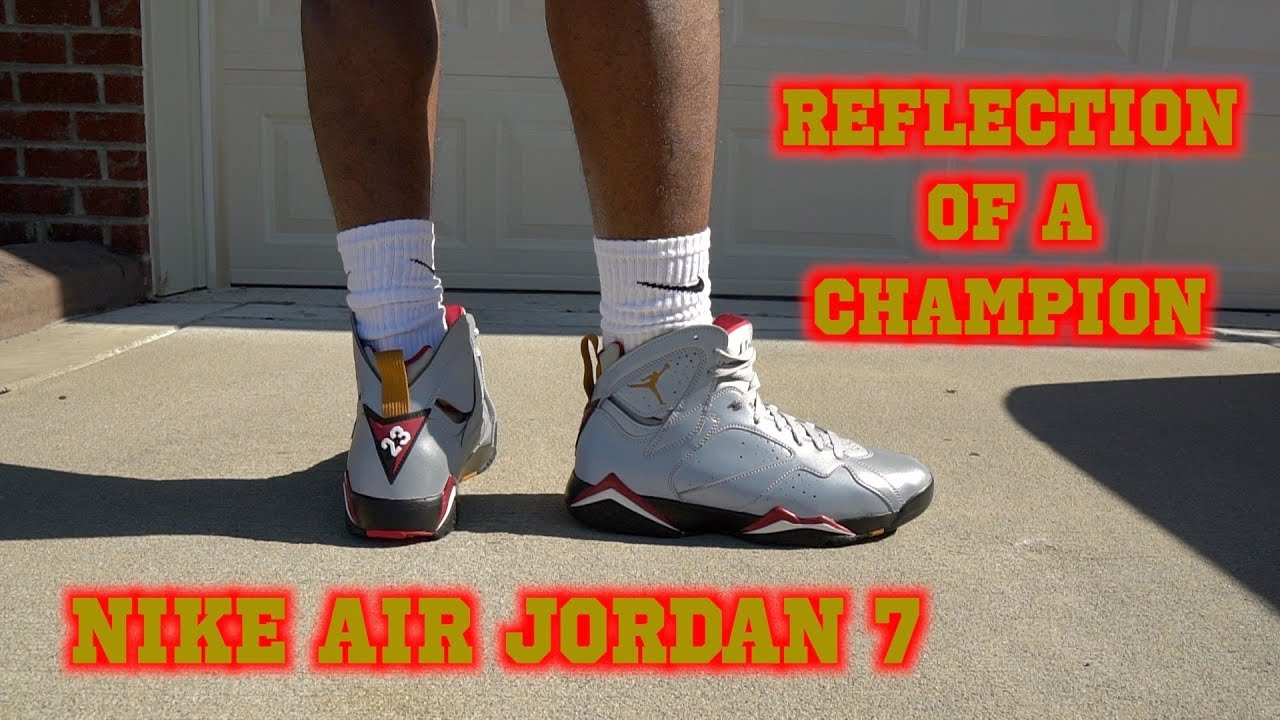 NIKE AIR JORDAN 7 REFLECTIONS OF A