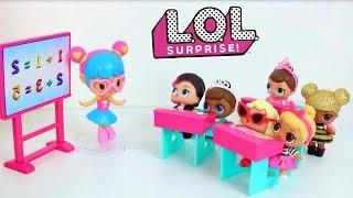 LOL Surprise! Bonecas LOL Surpresa vão para a escola BrinquedoNovelinhas Compilado