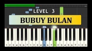 bubuy bulan - nada piano tutorial grade 3 - lagu tradisional daerah / nusantara