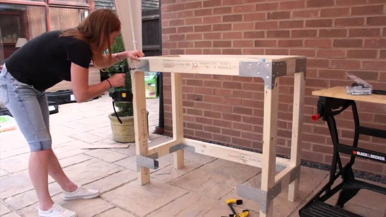 Simpson Strong Tie Steel Workbench Kit Youtube