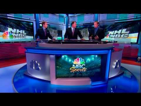 Mike Milbury and Jeremy Roenick call out Sidney Crosby for the Soft Play and Dive