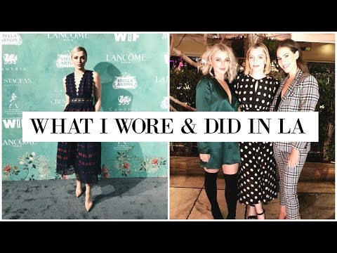 WHAT I WORE & DID IN LA ☀️ | allanaramaa