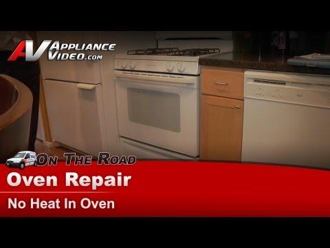 Gas Stove Repair - No heat in oven - GE, Hotpoint, RCAJGBP30WEA5WW