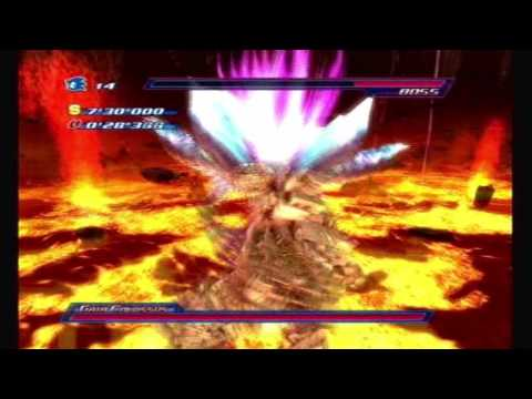 Sonic Unleashed Dark Gaia Xbox 360/Ps3+Wii/Ps2=Most Epic Boss Ever Part 1 (final Boss Combined)