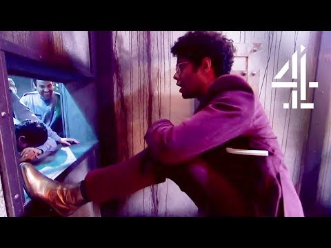 Richard Ayoade Has Had Enough Of The Attitude! | The Crystal Maze: Celebrity Special